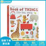 顺丰发货 英文原版The Book of Things: 250+ First 100 Words 主题式 图画词典