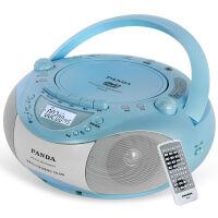 【当当自营】 熊猫/PANDA CD-850 多功能DVD复读播放机CD胎教机磁带录音机收音收录机MP3播放器音响 蓝色