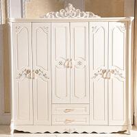 卧室套房欧式成套家具实木组合六件套装现代简约全套床衣柜梳妆台