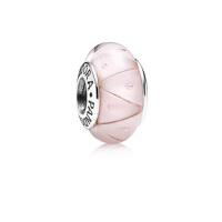 PANDORA潘多拉女手链串珠925银曲折气泡穆拉诺琉璃diy珠 790922