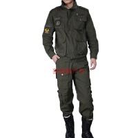 2017春季新款军迷套服户外套装多口袋工作服男其修复电焊服旅游野营 绿色