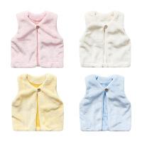 婴儿背心新生儿冬装宝宝春潮款马夹冬季马甲衣服婴幼儿外套