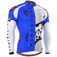 夏季自行车赛车服吸湿排汗 透气长袖骑行服运动套装