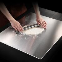 面板不锈钢砧板和面大号砧占板切菜板揉面擀面杖案板套装砧板