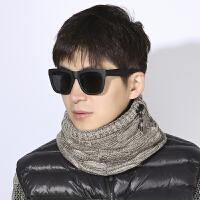 围脖男冬保暖潮流时尚个性潮牌男士加绒加厚骑行防寒户外冬季毛线脖套