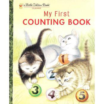 My First Counting Book (Little Golden Book) 我的第一本数数书(金色童书) ISBN 9780307020673