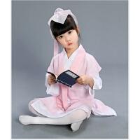 六一儿童汉服书童演出服弟子规幼儿国学男女童三字经古装表演服装