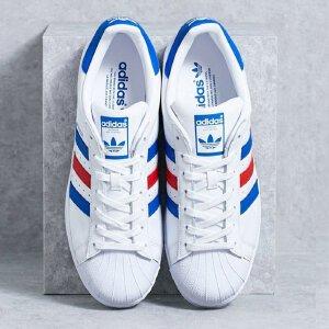 Adidas/阿迪达斯superstar贝壳头红蓝男女板鞋 BB2246