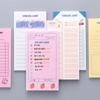 韩国创意可爱便签本可撕无粘性便签纸网红备忘录神器日计划小本子