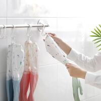 洗碗手套女冬天防水橡皮塑料护手保暖家务洗衣服专用洗菜加绒加厚
