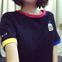 2018夏季新款韩版短袖T恤女士打底衫女式衣服女装