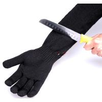 加强5级防护防割手套 防割手套防刺手套 户外用品 5级钢丝户外必备加厚 野外防护 野外防身用品 军迷用品