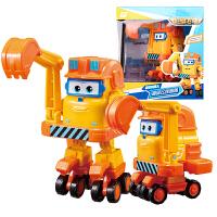 奥迪双钻超级飞侠玩具大号变形机器人全套装小飞侠玩具 大变形飞侠-朗朗