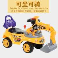 儿童玩具挖掘机可坐玩具车大型挖机可坐人电动工程车男孩挖土机