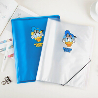 广博20页资料册学生档案册迪士尼唐老鸭蓝色IQT17200-DB