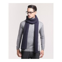 仿羊绒毛线韩版冬季男纯色毛线针织围巾学生围巾保暖围脖