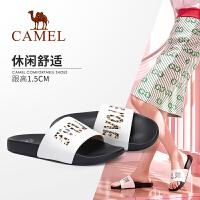 camel 骆驼女鞋2019新款夏季平底凉拖女网红凉鞋女外穿时尚百搭��拖鞋女