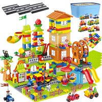 儿童大颗粒积木玩具 宝宝创意拼装拼插立体城堡模型玩具套装兼容乐高 男孩女孩节日礼物