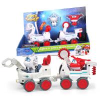 奥迪双钻超级飞侠玩具大号变形机器人全套装小飞侠玩具 米莉太空车小场景