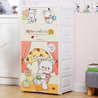 物有物语 儿童收纳柜 宝宝衣柜抽屉式收纳柜储物柜儿童塑料收纳整理抽屉玩具柜子