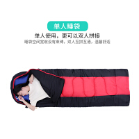 户外睡袋冬季保暖睡袋可拼接双人午休加厚新品