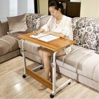 简易电脑桌折叠学生床上书桌家用可移动床边桌儿童升降学习写字桌
