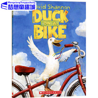 【78�x3】#英文原版�L本3 6�q Duck on a Bike ��子�T�� David Shannon 自行�上的��子