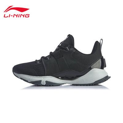 李宁跑步鞋男鞋2020新款Crazy Run X减震回弹鞋子男士中帮运动鞋ARHQ009 专柜新款 减震回弹