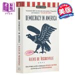 【中商原版】论美国的民主/民主在美国英文原版经典名著Democracy in America