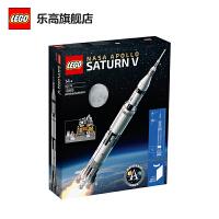 【����自�I】LEGO�犯叻e木IDEAS系列 美��宇航局阿波�_土星五� 92176