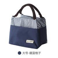饭盒袋手提包手拎午餐包学生逛街散步小布包保温防水铝膜多功能包