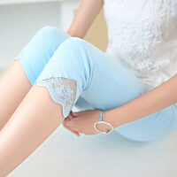 新款外穿弹力打底裤大码短裤韩版修身薄小脚铅笔裤显瘦七分裤女夏