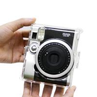 一次成像 拍立得 mini90 水晶壳 迷你90透明壳 相机包