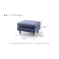 沙发客厅时尚 乳胶布艺沙发小户型 简约现代客厅三人位羽绒沙发四人位创意简约