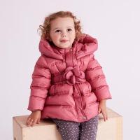 davebella戴维贝拉2017冬季新款羽绒服 女童加厚保暖羽绒服DB5546