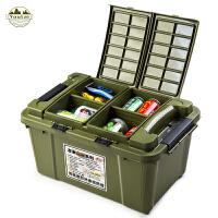 汽车收纳箱后备箱储物箱车载整理箱置物箱多功能车尾箱储物箱