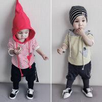 201805050145272266-9个月宝宝加绒卫衣婴幼儿冬装0一1-3岁男女童加厚上衣服宽松潮