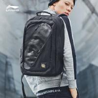 李宁双肩包男包女包新款韦德系列训练系列背包书包学生运动包ABSN408
