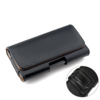 保护套6S 7plus腰带5SE手机壳5C挂腰包苹果8穿皮带4皮套男p 5.0-5.2寸 平纹