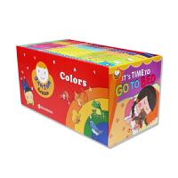 JamJam English果酱英语30本 英文原版儿童绘本英语点读早教分级阅读0-3-6岁 幼儿英语启蒙睡前故事书