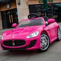 儿童电动车遥控车可坐四轮男女宝宝玩具汽车可坐人超大号