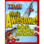 TIME For Kids That's Awesome: The World's Most Amazing Facts & Records [Hardcover] 《时代周刊》儿童读物:令人惊叹的世界之最(精装)ISBN 9781603201568