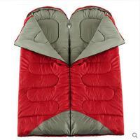 野营睡袋帐篷睡袋信封室内午休双人情侣露营睡袋户外睡袋成人加厚保暖