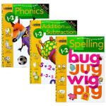 Phonics/Spelling/Addition and Subtraction 英文原版 美国小学一二年级英语数学