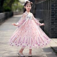汉服唐装女童古装中国风连衣裙女孩儿童襦裙夏装童装裙子