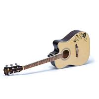 初学者入门学生吉它学生男女乐器电箱民谣吉他40寸41寸木吉他