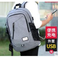 新品韩版时尚潮流男士旅游双肩包大容量电脑背包男