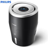 飞利浦(PHILIPS)空气加湿器 上加水 自动加湿 湿度数显 纳米无雾恒湿 静音卧室办公室家用加湿 HU4813/0