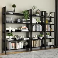 书架书柜简约现代书橱组合置物架简易收纳储物多层货架展示架落地