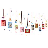 相片墙相框创意组合墙贴 5寸7寸相片墙相框创意挂墙组合个性照片墙装饰简约儿童房相框墙贴